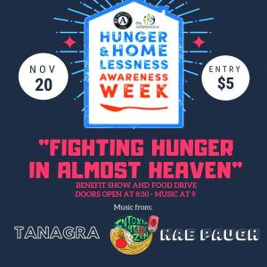 Vista Collaborative Fighting Hunger in Almost Heaven Benefit Concert