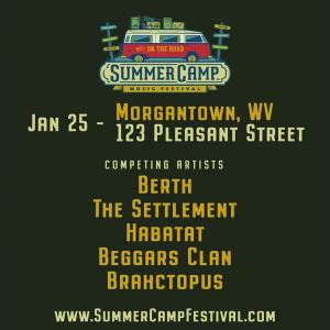 Summer Camp on the Road Tour: Berth, Habatat, Beggars Clan, The Settlement, Brahctopus