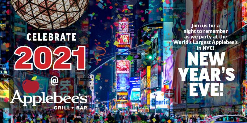 Tickets for Applebee's NYE 2021 Extravaganza BROADWAY @50th in New York from ShowClix