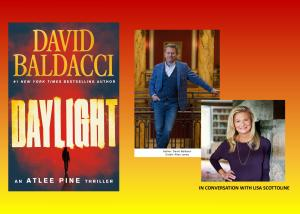 David Baldacci On-Demand Event Recording