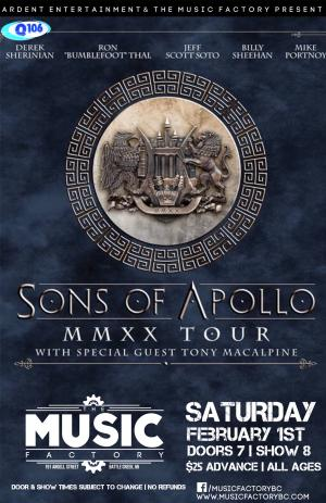 Sons of Apollo in Battle Creek