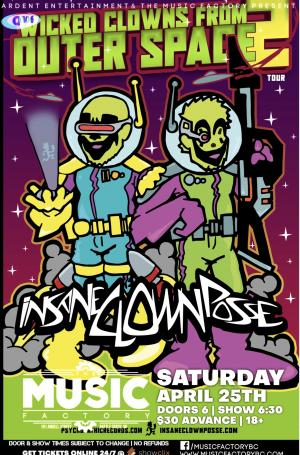 RESCHEDULED **SOLD OUT** INSANE CLOWN POSSE in Battle Creek
