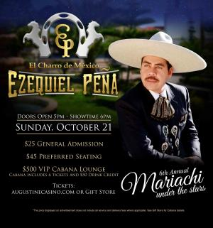 6th Annual Mariachi under the Stars