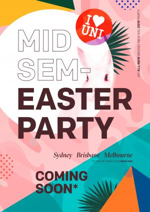 Mid Sem Easter Party Sydney