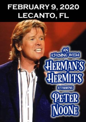 Herman\'S Hermits Tour 2020 Tickets for Herman's Hermits starring Peter Noone in Lecanto from