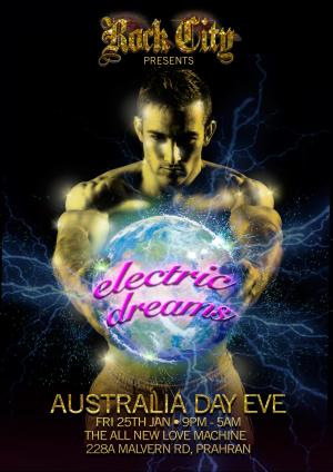 Rock City - Electric Dreams - Australia Day Eve