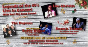 Legends Of The 60's Live In Concert