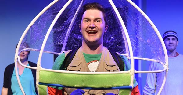 Photo of Nathanial Yost as Jimmy the Bubble Boy