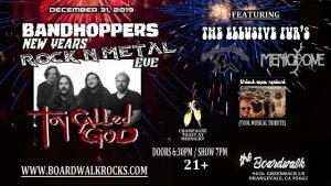 Bandhoppers New Years Rock n Metal Eve