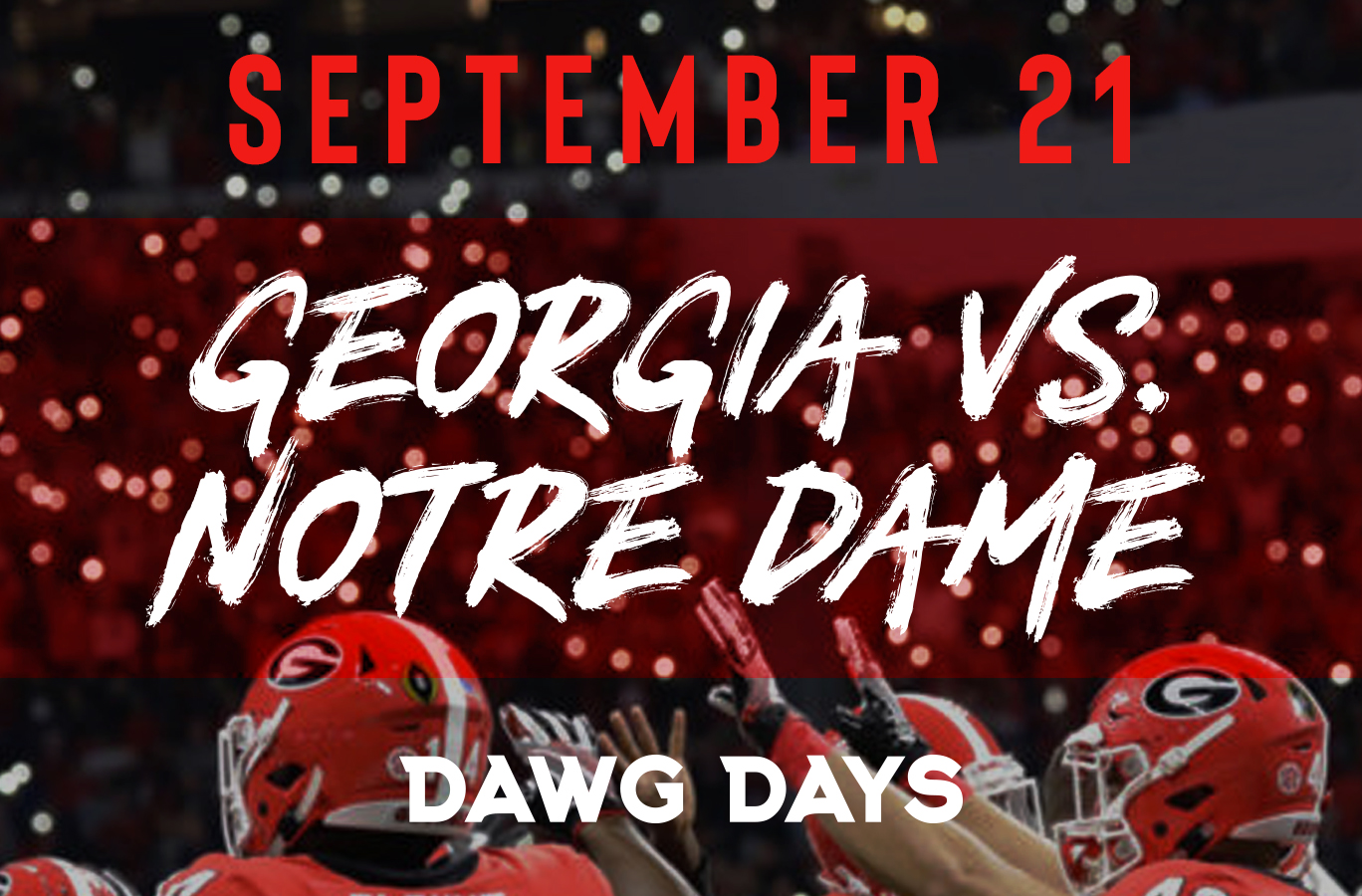 Tickets for Georgia vs Notre Dame | 9 21 19 | Athens, GA in