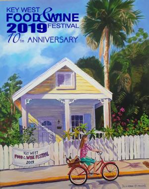 Official 2019 Painting, KW Food & Wine Festival