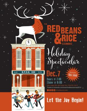 The Red Beans & Rice Combo Holiday Spectacular
