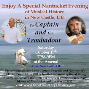 New Castle, Delaware Music and History Performance