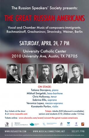 Concert: The Great Russian Americans