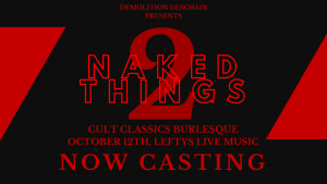 Naked Things 2: Cult Classics Burlesque