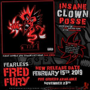 ICP Fearless Fred Fury Album Release