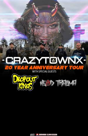 Crazy Town 20 Year Anniversary Tour at Lefty's