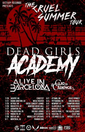 Dead Girls Academy Live at Lefty's