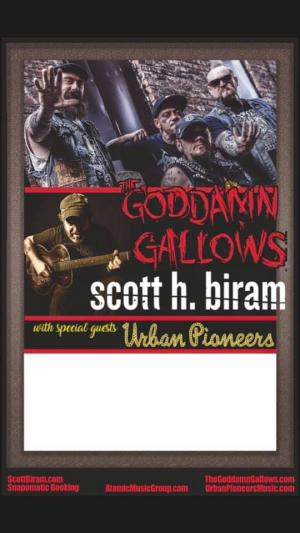 The Goddamn Gallows + Scott H. Biram