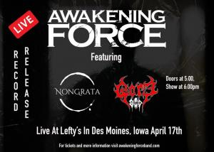 Awakening Force Record Release Show