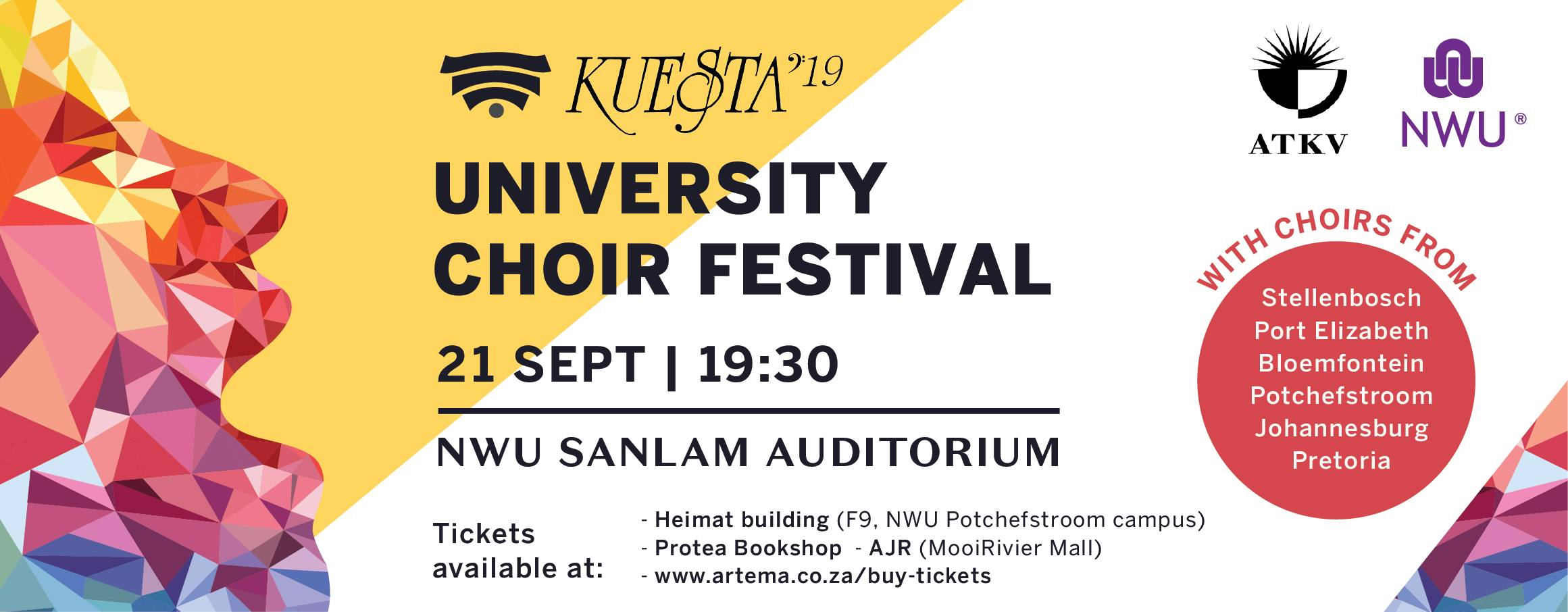 Tickets for Kuesta Choir Festival 2019 in Potchefstroom from