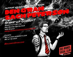 Comedy: Ben Gran & Zach Peterson