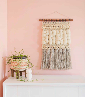 Woven Wall Hanging Class with Nicole Janney