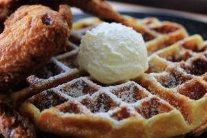 Bourbon & Waffles Brunch