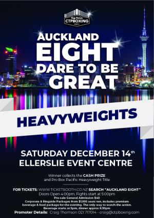 Auckland Eight Dare To Be Great