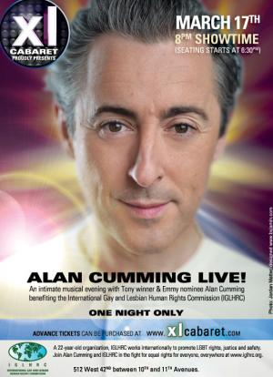 Alan Cumming Live
