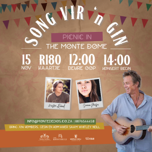 Song Vir 'n Gin - Picnic in The Monte Dome