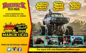 TGW Spring Break @ Redneck Mud Park $95 Ticket