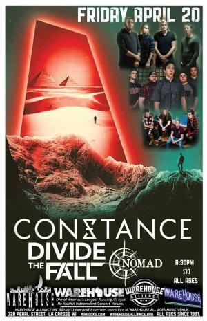 CONSTANCE with DIVIDE THE FALL, and NOMAD