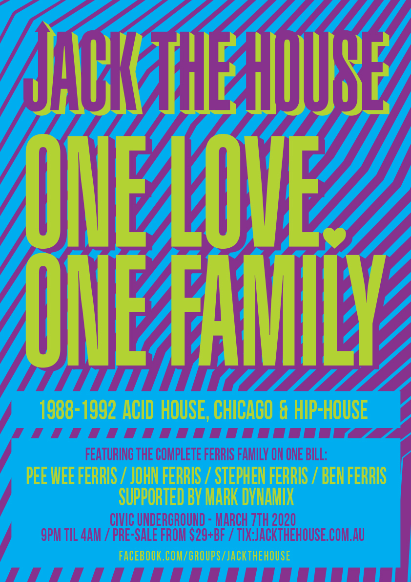 Jack The House: One Love One Family
