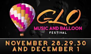 GLO MUSIC AND BALLOON FESTIVAL