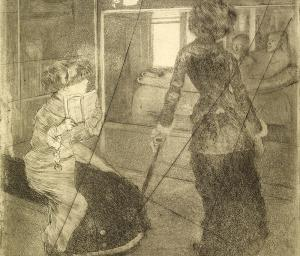 Little Lightners: Degas, Prints and I