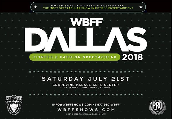 WBFF Dallas - Fitness & Fashion Spectacular