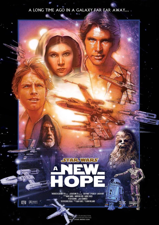 1977 Star Wars movie poster print 112