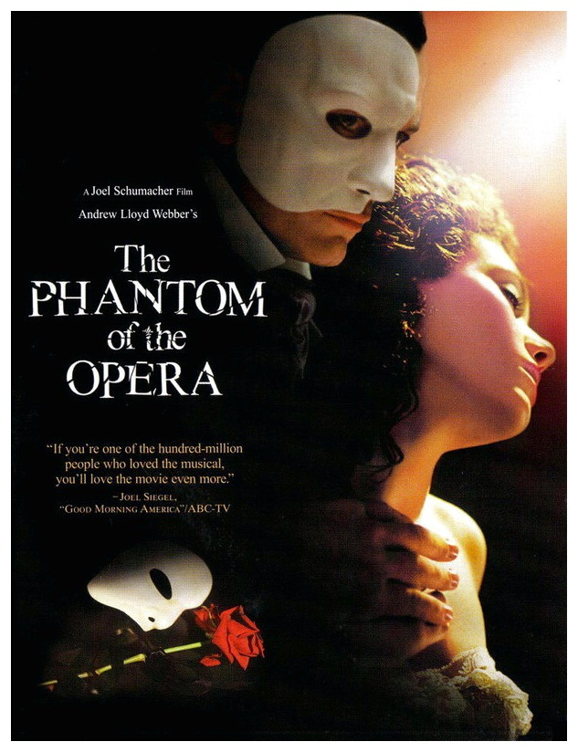 Tickets for The Phantom of the Opera (2004) in Grapevine from Grapevine  TicketLine