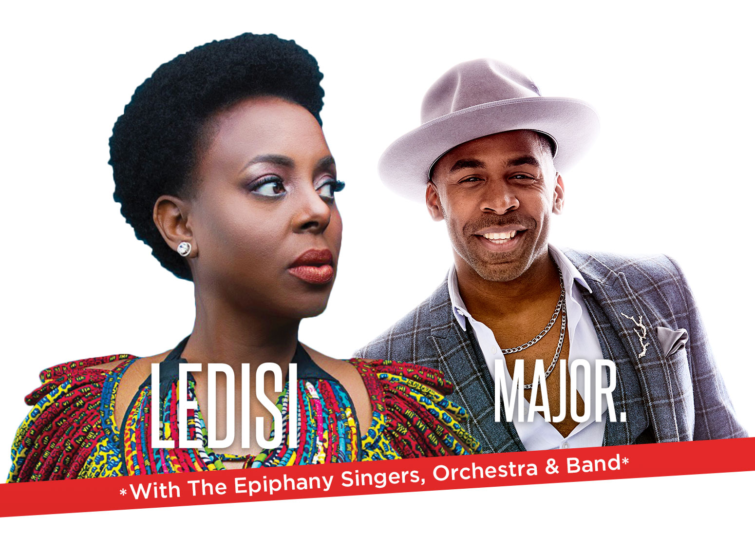 2019 Epiphany Benefit Concert - Special Musical Guests Ledisi and MAJOR.