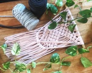 Macrame Wallhanging Workshop Coogee Live SOLD OUT