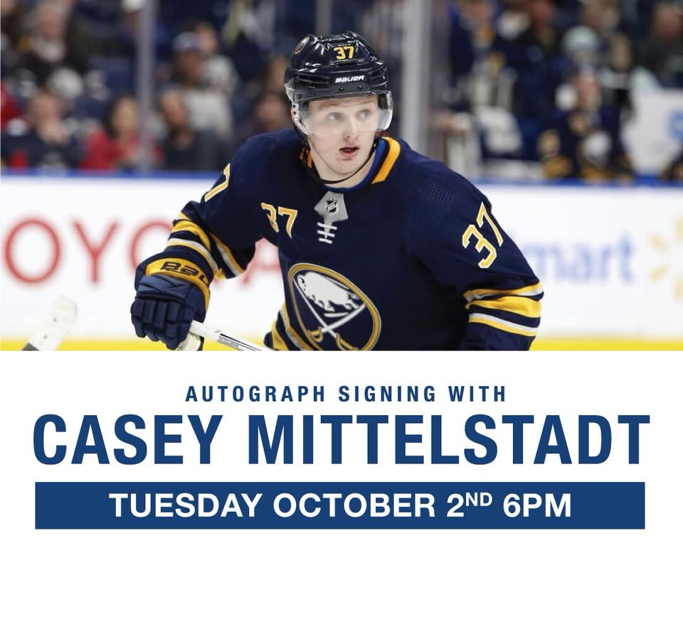 9b0fa4d6e Tickets for Casey Mittelstadt Autograph Signing in Williamsville from ...