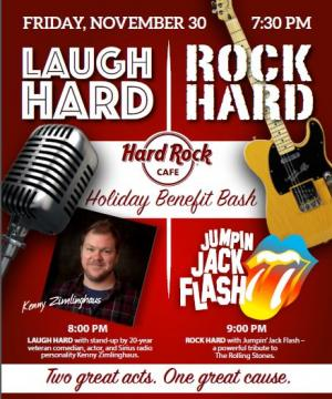 Laugh Hard - Rock Hard Holiday Benefit Bash