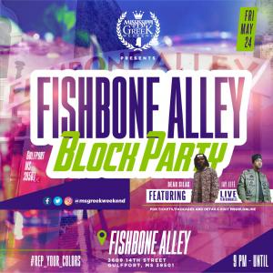 Fishbone Alley Block Party