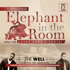 Elephant in the Room Happy Hour & Social