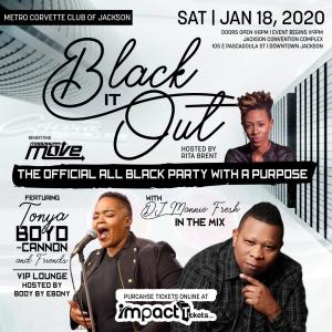 Black It Out: The Black Party With A Purpose