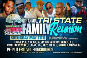 THE 6TH ANNUAL TRI-STATE FAMILY REUNION