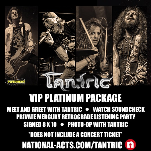 Tickets for tantric vip akron oh in akron from national acts inc meet and greet with tantric watch the soundcheck or private 1 song acoustic performance at bands discretion private listening party featuring 2 m4hsunfo