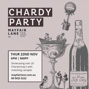 Chardy Party at Mayfair