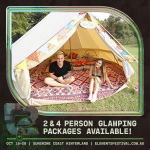 Elements Festival 2019 - Glamping Tickets